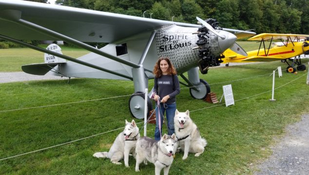 Old Rhinebeck Aerodrome: Lindbergh's Spirit of St Louis Inspires the Pack